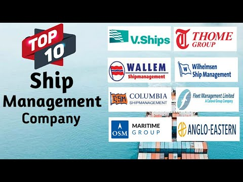 Top 10 Ship Management Companies In The World | 2019