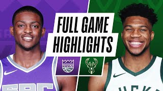 KINGS at BUCKS | FULL GAME HIGHLIGHTS | February 21, 2021