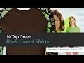 10 Top Green Rash Guard Shirts Women's Swimwear, Spring 2017
