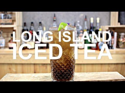 Long Island Iced Tea Cocktail Recipe - SO BOOZY!!