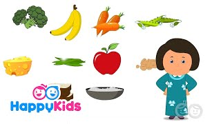 Healthy food is the learning song to teach kids about good eating. not everything has be a green vegetable good.★https://youtu.be/fjoglkj5mii?list=p...