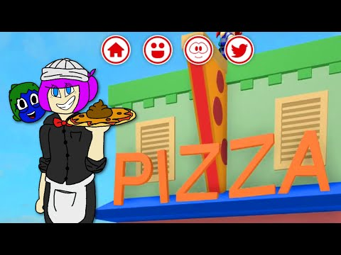 ROBLOX MEEP CITY ROLEPLAY | POOP ON PIZZA | RADIOJH GAMES & GAMER CHAD