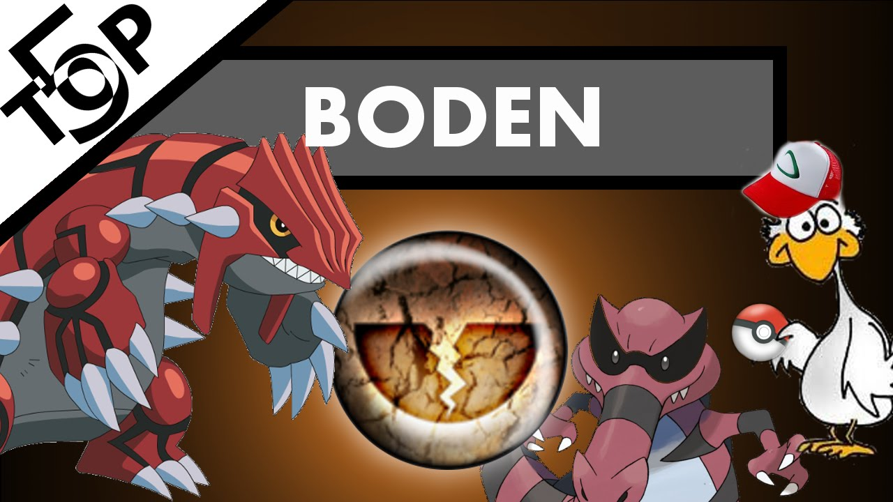 Boden Top 5 Die 5 Besten Boden Pokemon The 5 Best Ground