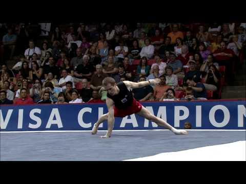 Morgan Hamm - Floor Exercise - 2008 Visa Championships - Men - Day 2