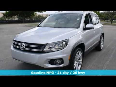 Certified 2016 Volkswagen Tiguan Miami FL Ft-Lauderdale, FL #73005