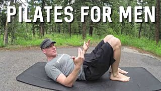 Pilates for Men - Intermediate Core Abs Workout #pilatesformen