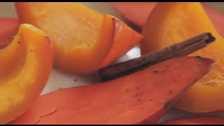Baby Food | Cinnamon & Nutmeg Roasted Pumpkin and Sweet Potato Puree