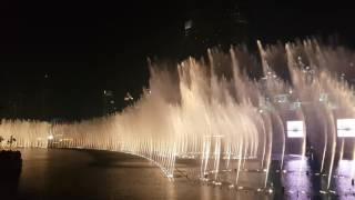 Dubai Fountain- I will always love you