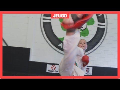 Nicole (9) gaat naar het WK karate