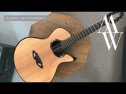Michael Watts - Iconic Instruments - The Casimi Guitars Prototype