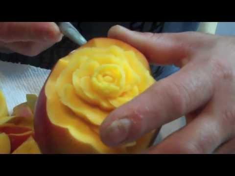 Mango Fruit Carving
