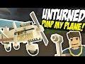 PIMP MY PLANE - Unturned Custom Vehicles   Making a Biplane!