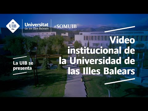 Video institucional de la Universidad de las Illes Balears