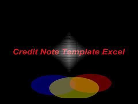 Credit Note Template Format