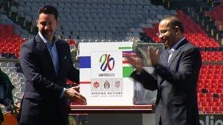México presentó garantías para ser sede del Mundial de fútbol de 2026
