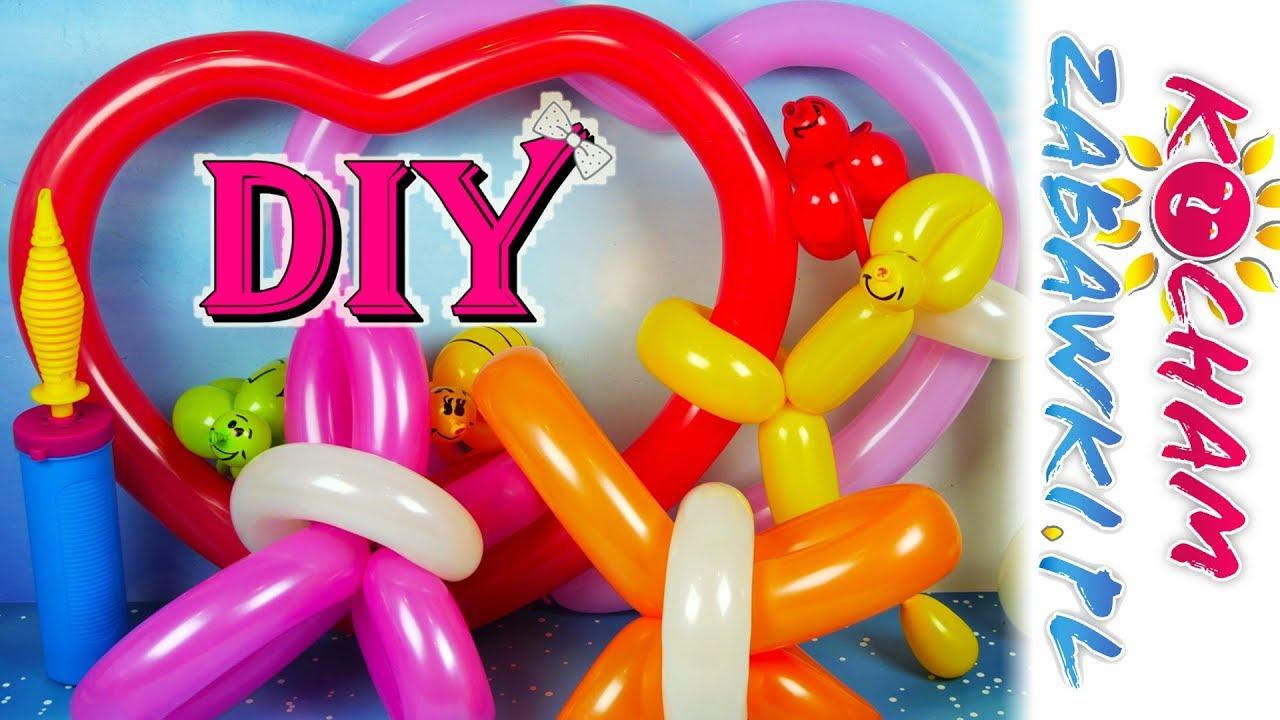 Baloniki dla dzieci #3 • Balonowe motyle DIY • Zrób to sam • Kreatywne zabawy
