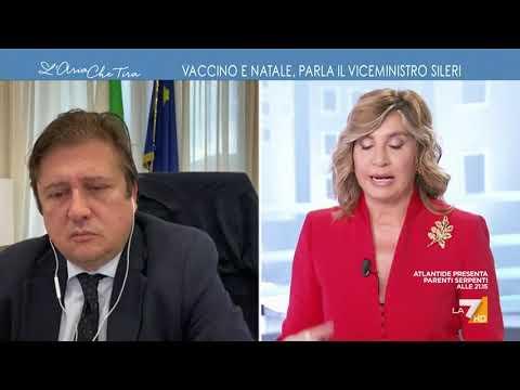 """Vaccino anti-Covid, Pierpaolo Sileri: """"Il 27 dicembre il V-Day sarà il calcio d'inizio di una ..."""