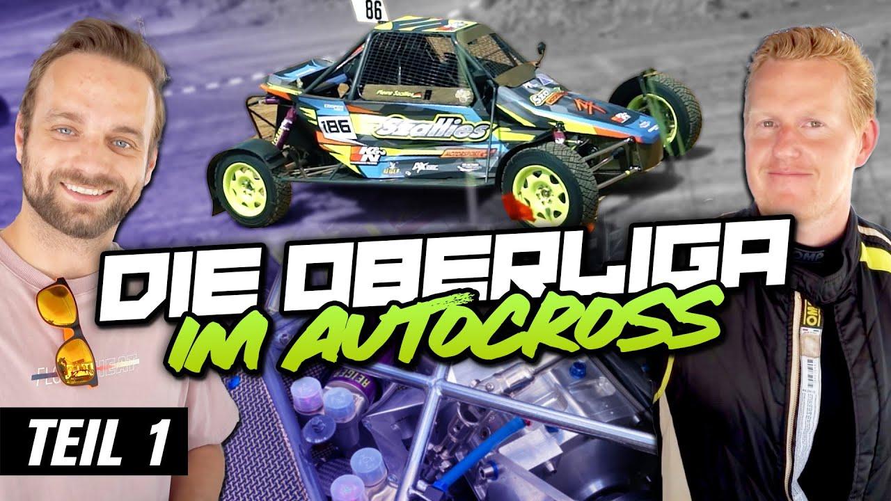 Die Oberliga im Autocross - Zu Besuch bei Szallies Motorsport - TEIL 1   Philipp Kaess  