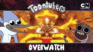 ¡Jugamos OVERWATCH! Nos sentimos muy bien… | Toontubers | Cartoon Network thumbnail