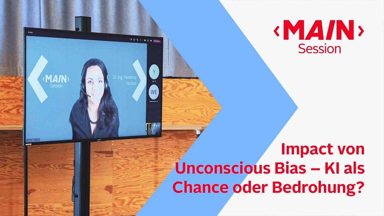 Impact von Unconscious Bias – KI als Chance oder Bedrohung?   MAIN Session – OTTO
