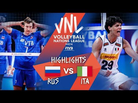 RUS vs. ITA - Highlights Week 5   Men's VNL 2021