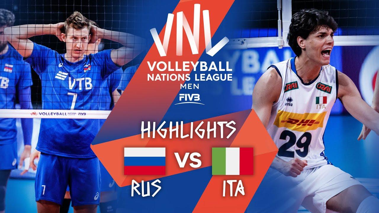 Download RUS vs. ITA - Highlights Week 5   Men's VNL 2021