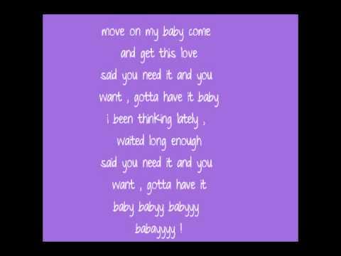 Fantasia - Move On Me With Lyrics