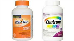 Multivitamins for Women | One A Day vs Centrum