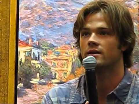 Jared Padalecki from Supernatural at EyeCon 2008 Full length