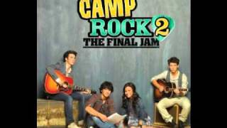 Tear It Down- Matthew Finley and Meaghan Jette Martin (Camp Rock 2 with lyrics)