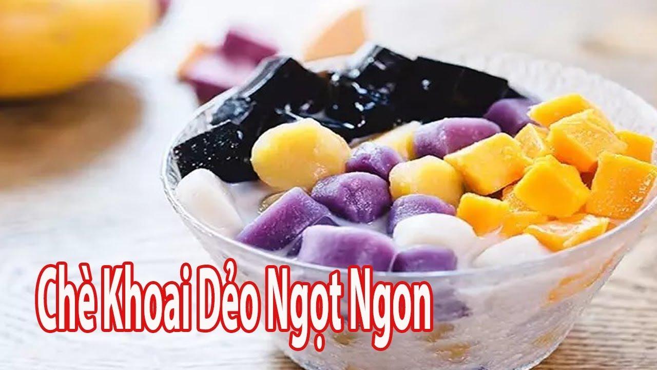 Cách Nấu Chè Khoai Dẻo Dai Dai Ngon Ngất Ngây | Góc Bếp Nhỏ