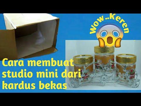 Cara Membuat Studio Mini Dari Kardus Bekas New Youtube