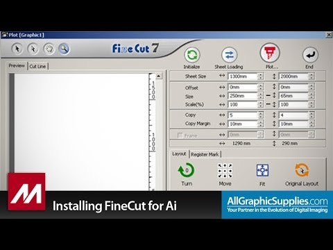 Installing Mimaki FineCut for Illustrator on Windows - All