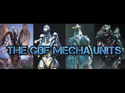 Kaiju Tribute Season 2: The GDF Mecha Units