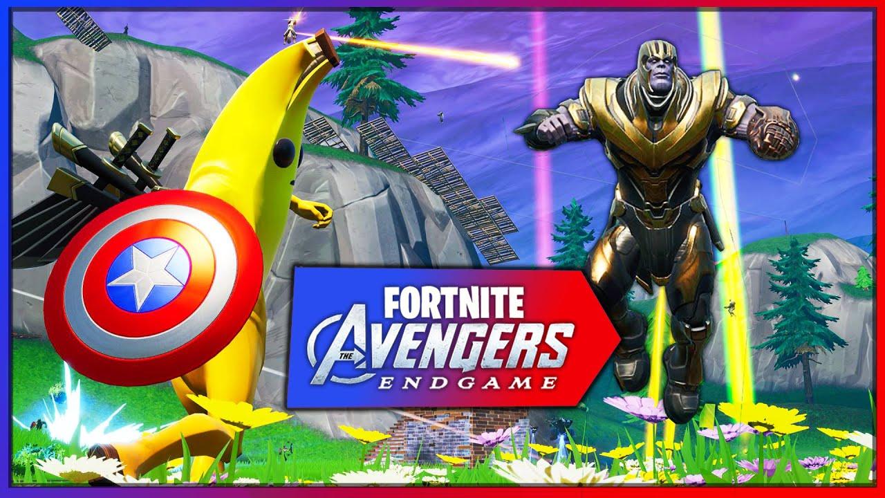 avengers x fortnite endgame *nuevo modo de juego* (battle