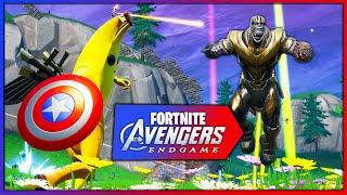 video avengers x fortnite endgame nuevo modo de juego battle royale videos de juegos en minijuegos - tienda fortnite 25 abril avengers