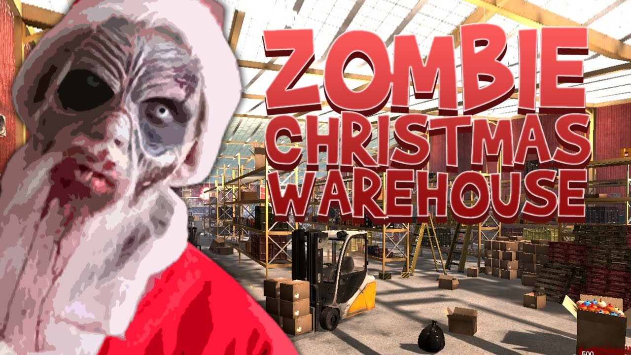 ZOMBIE CHRISTMAS WAREHOUSE ☆ Call of Duty Zombies Mod (Zombie Games ...