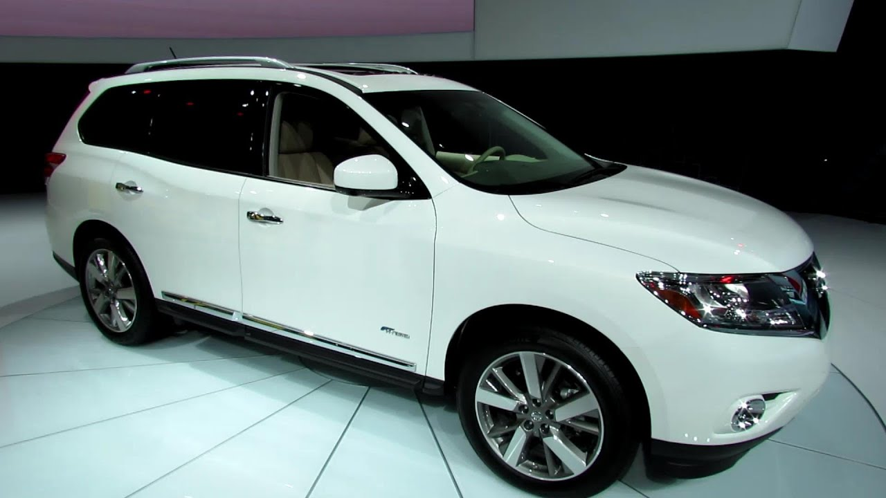 2014 Nissan Pathfinder Hybrid Exterior And Interior