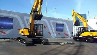 Video still for Sany Excavator Demo at ConExpo 2014 -   MUST SEE