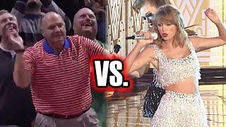 Taylor Swift vs. Steve Ballmer: Best Audience Dancer?