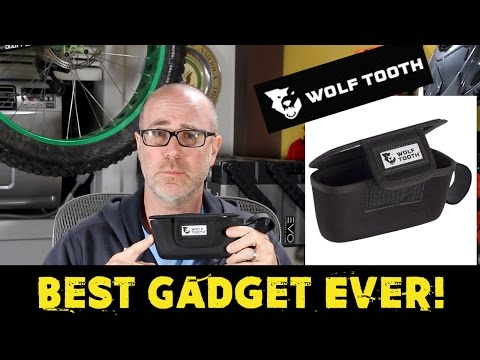 Product Review - Wolf Tooth Components Handlebar BarBag - Best Mountain Bike Gadget #bikechat #rgmtb