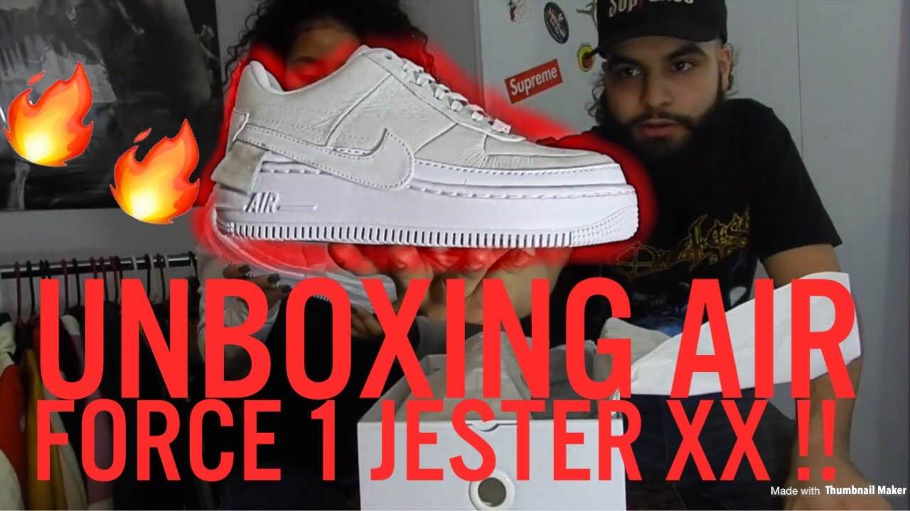 Air Force 1 Jester XX Unboxing