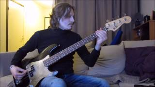 Gary Moore & Phil Lynott - Out In The Fields (Bass Cover)