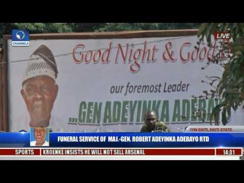 Funeral Service Of Major Gen Robert Adeyinka Adebayo Rtd Pt 19