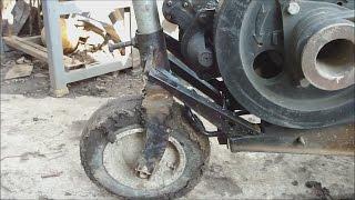 ЗУБР Q79E! Короткая пробежка с опорным колесом!