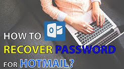 Hotmail Login Problem: Reset Hotmail Account Password | Hotmail Account Recovery 2020