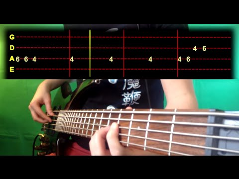 Jamie Xx - Girl Bass Cover (With Tab)
