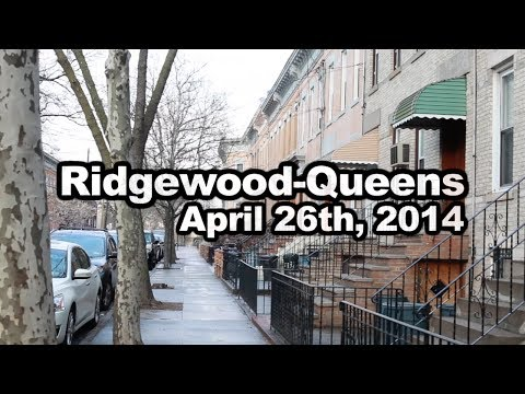 This is One Day in Ridgewood-Queens