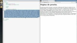 HTML Tutorial básico - (2) Estructura básica de una página web (Español)