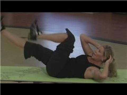 Abdominal Exercises : Bicycle Crunch Exercises for the Abs